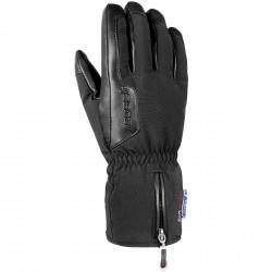 Ski gloves Reusch Powerline Stormbloxx black