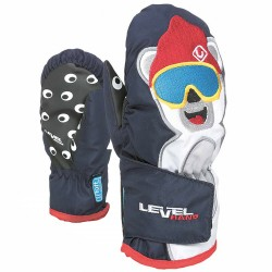 Ski mittens Level Animal Baby