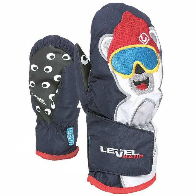 Ski mittens Level Animal Baby