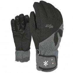 Gants ski Level Bliss Sunshine Femme noir-gris