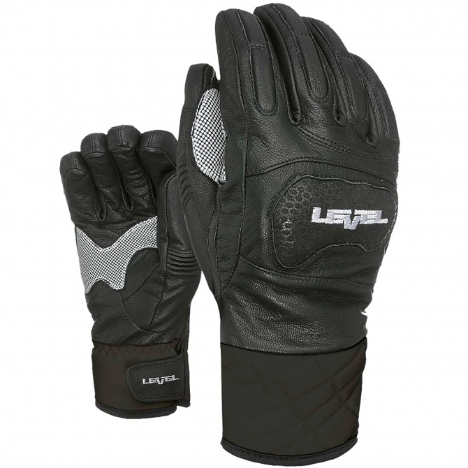 Ski gloves Level Race Man black