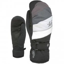 Ski mittens Level Ultralite Woman black-grey