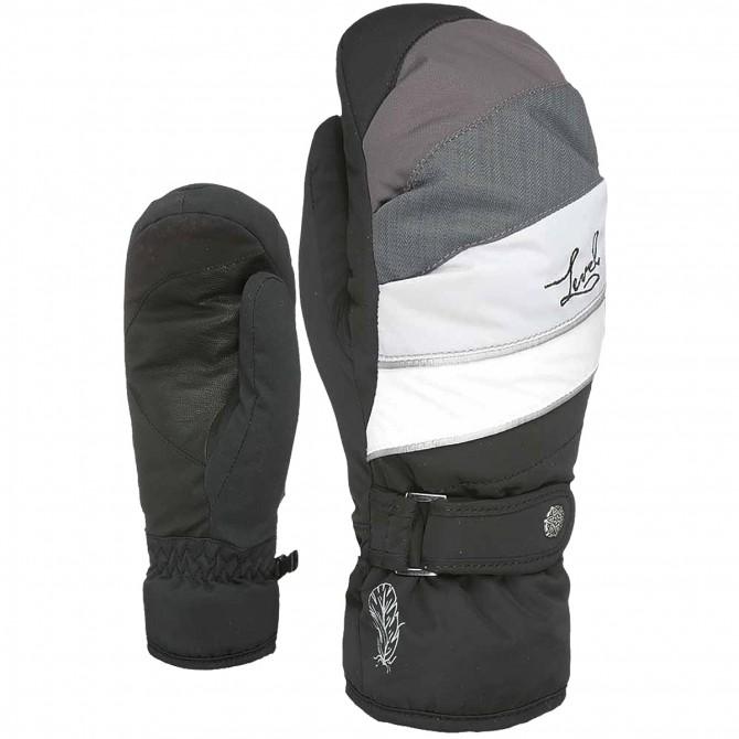 Moufles ski Level Ultralite Femme noir-gris