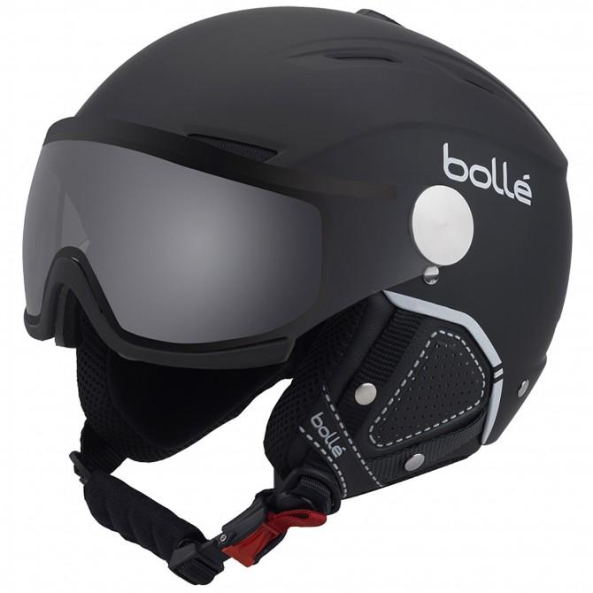 Casco sci Bollé Backline Visor Premium nero