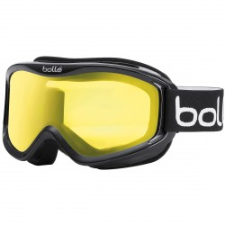Maschera sci Bollé Mojo nero-giallo