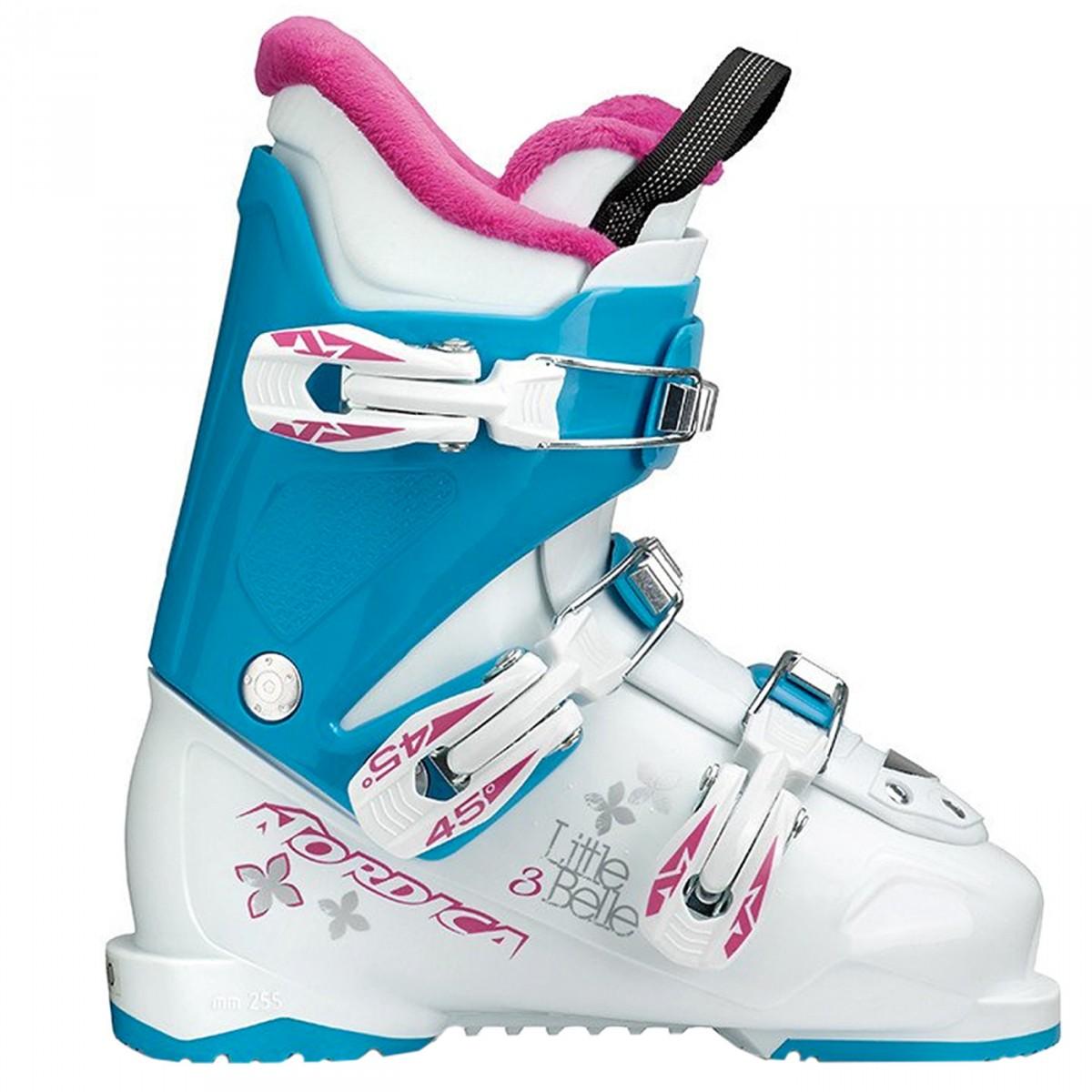 Scarponi sci Nordica Little Belle 3 (Colore: bianco-viola, Taglia: 20)