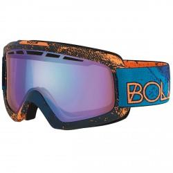 Maschera sci Bollé Nova II blu-arancione