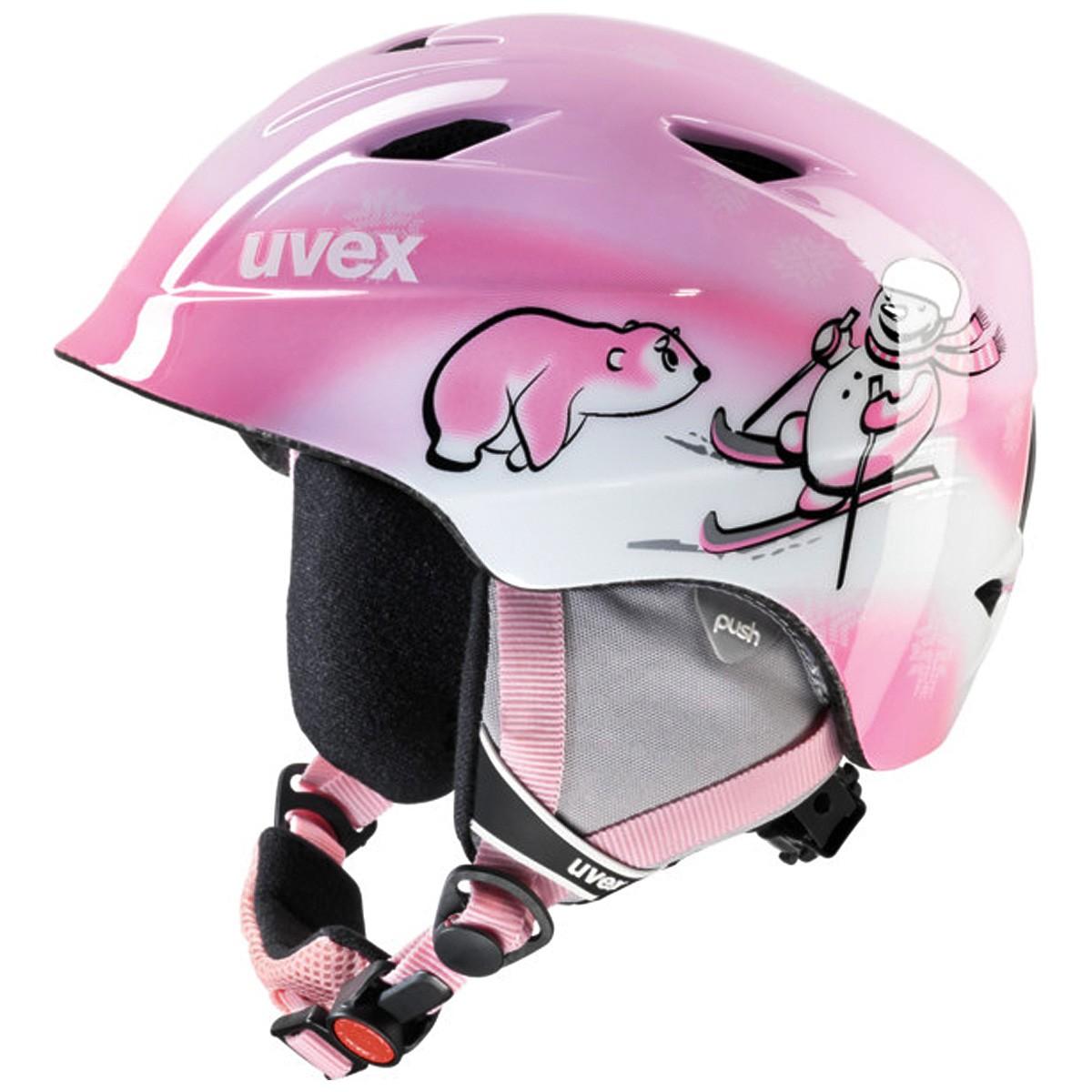 Casco sci Uvex Airwing 2 (Colore: rosa, Taglia: 48/52)