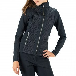 Softshell Fusalp Tracy Donna nero