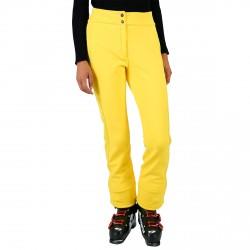 Pantalones esquí Fusalp Perinne Smock Mujer amarillo