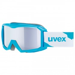 Masque ski Uvex Flizz LM bleu clair