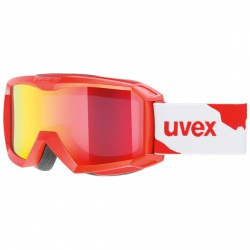 Masque ski Uvex Flizz LM rouge