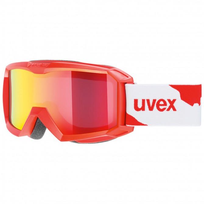 Maschera sci Uvex Flizz LM rosso