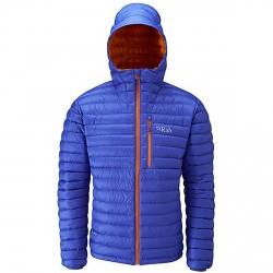 Doudoune alpinisme Rab Microlight Homme bleu