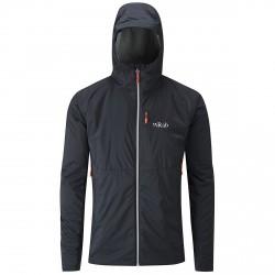 Mountaineering jacket Rab Microlight Man black