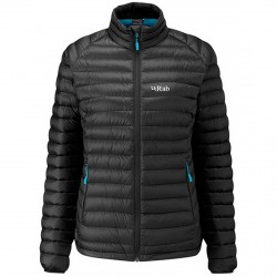 Mountaineering down jacket Rab Microlight Woman black