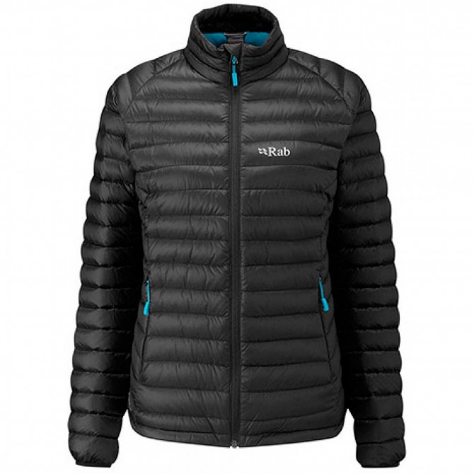 Mountaineering down jacket Rab Microlight Woman black