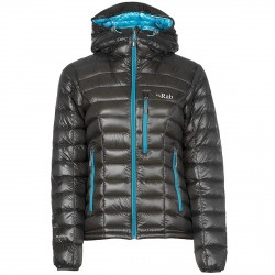 Mountaineering down jacket Rab Continuum Woman brown