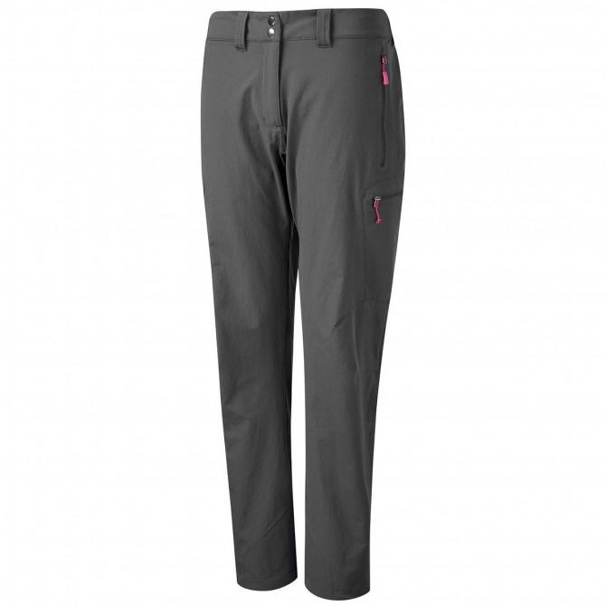 Pantalones montañismo Rab Sawtooth Mujer gris