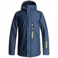Snow jacket Dc Ripley Man blue