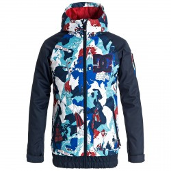 Chaqueta snow Dc Troop Niño azul