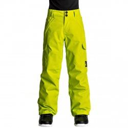 Pantalon snow Dc Banshee Garçon jaune