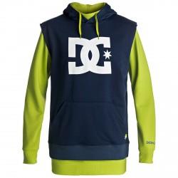 Snow sweatshirt Dc Dryden Man blue-yellow