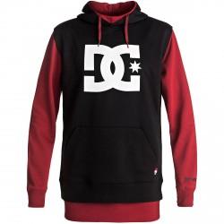 Snow sweatshirt Dc Dryden Man black-red