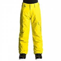 Pantalon snowboard Quiksilver Porter Garçon jaune