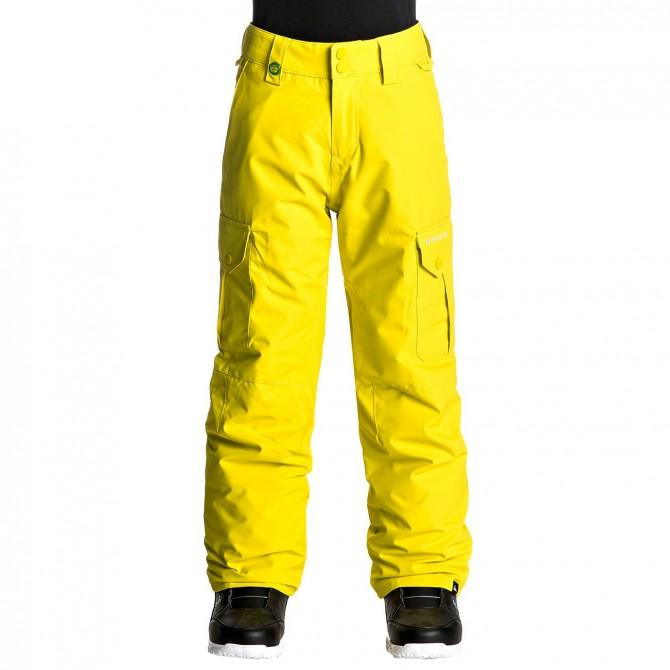 Snowboard pants Quiksilver Porter Boy yellow