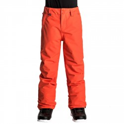 Pantalon snowboard Quiksilver Estate Garçon rouge