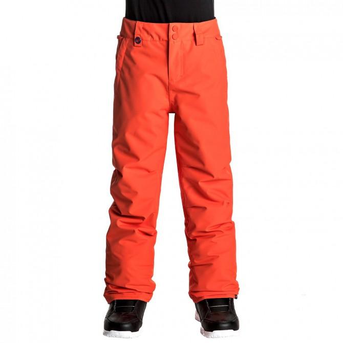 Snowboard pants Quiksilver Estate Boy red