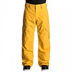 Pantalones snowboard Quiksilver Porter Hombre amarillo