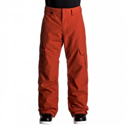 Pantalones snowboard Quiksilver Porter Hombre rojo