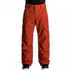 Pantalone snowboard Quiksilver Porter Uomo rosso