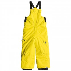 Pantalone snowboard Quiksilver Boogie Baby giallo
