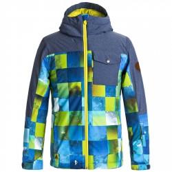 Garçon Block Snowboard Quiksilver Mission Veste Vêtements 7xWIPw0Z
