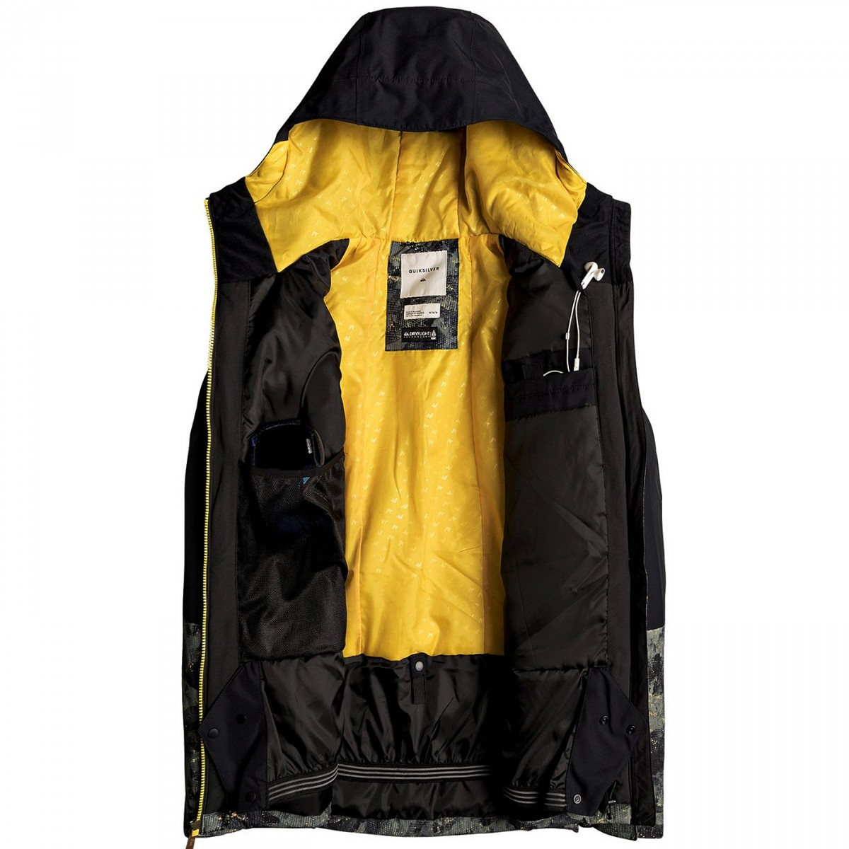 veste snowboard quiksilver mission block homme v tements snowboard. Black Bedroom Furniture Sets. Home Design Ideas