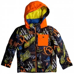 Chaqueta snowboard Quiksilver Little Mission Baby negro