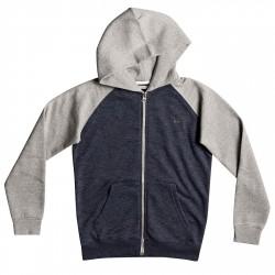 Sweat-shirt Quiksilver Everyday Garçon gris-bleu