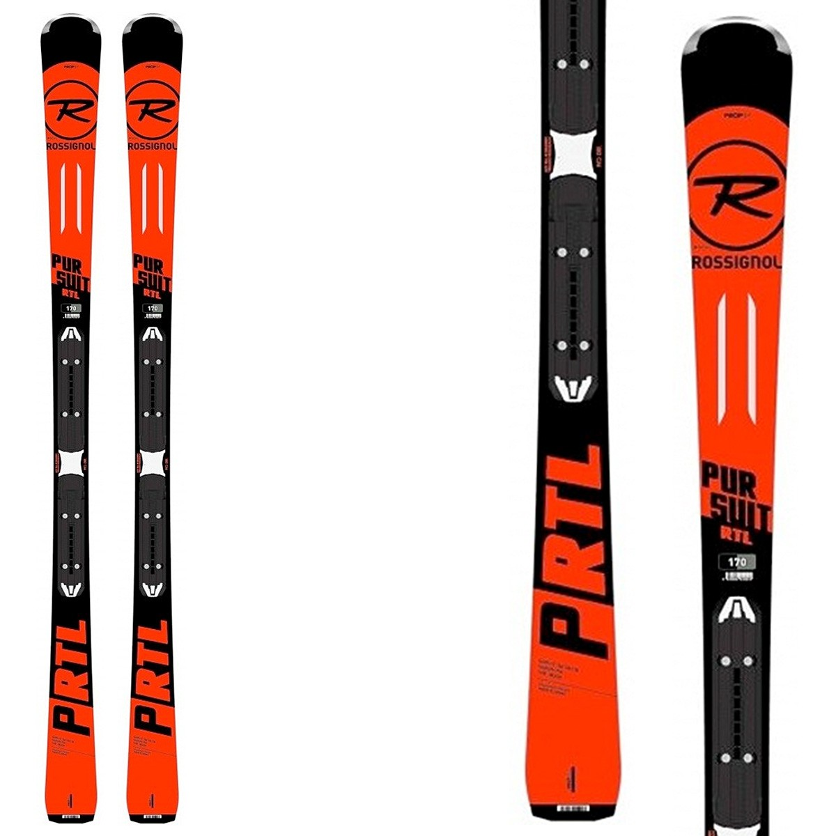 ski rossignol pursuit rtl fixations xpress 10 all mountain. Black Bedroom Furniture Sets. Home Design Ideas