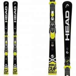 Ski Head WC Rebels iRace Rp + fixations Freeflex Evo 14 Brake 85