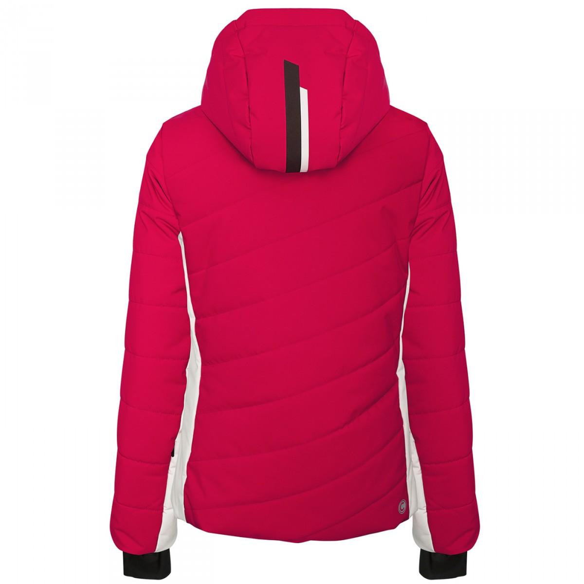 Ski jacket Colmar Lake Louise Woman red grey