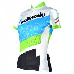 t-shirt de ciclismo Bottero Ski mujer
