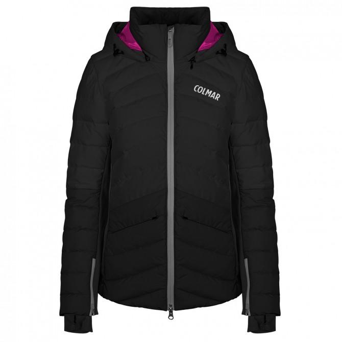 Ski jacket Colmar Ushuaia Woman black fuchsia