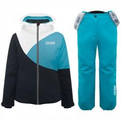 Ensemble ski Colmar Sapporo Fille turquoise