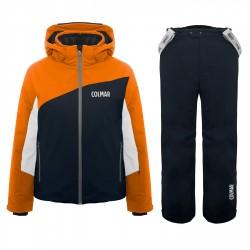 Completo sci Colmar Sapporo Bambino arancione-blu