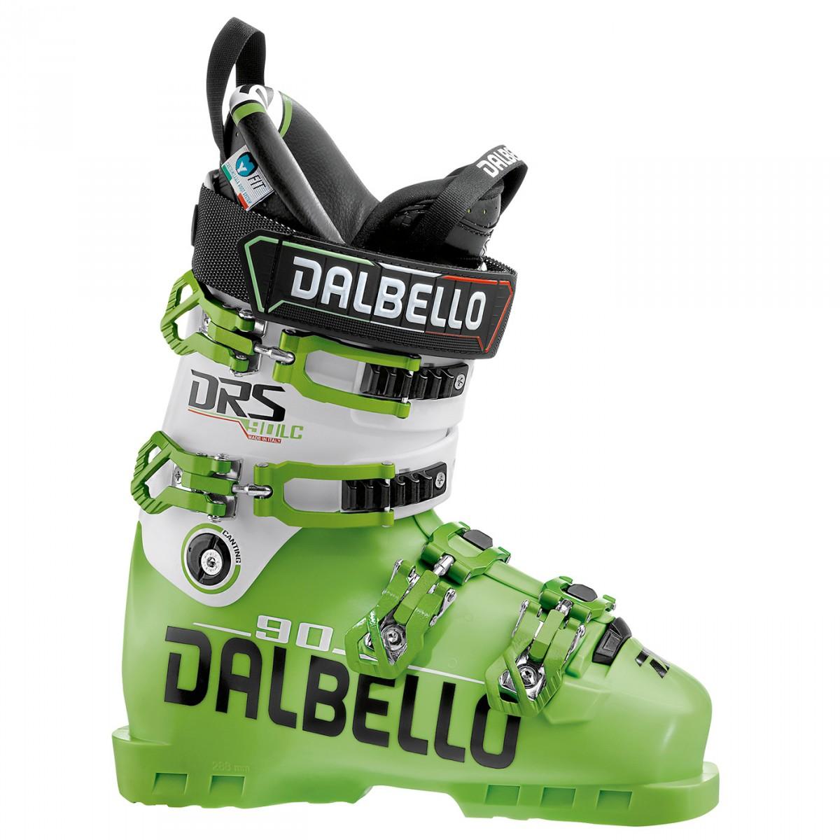 Scarponi sci Dalbello Drs 90 (Colore: lime-bianco, Taglia: 26)