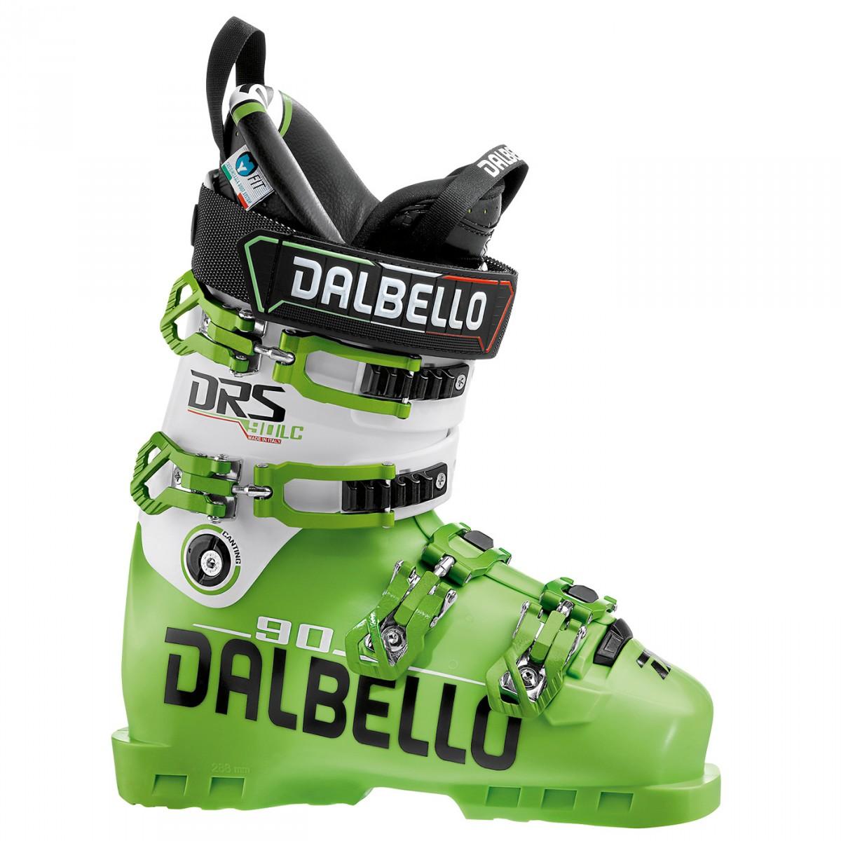 Scarponi sci Dalbello Drs 80 (Colore: lime-bianco, Taglia: 25)