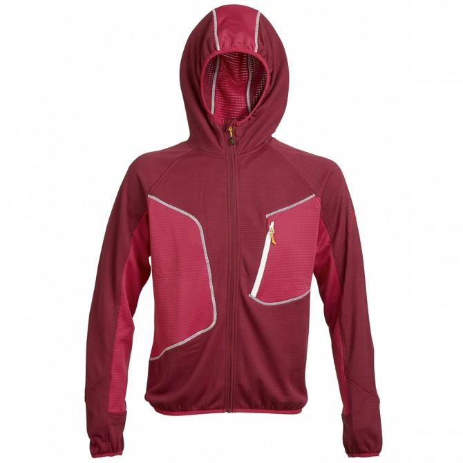 Mountaineering fleece Rock Experience Lavaredo 1 Man burgundy
